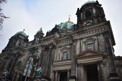 柏林主教座堂 库存图片