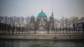 柏林人Dom,柏林,德国 免版税图库摄影