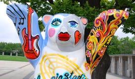 柏林伙计熊的标志 免版税库存照片