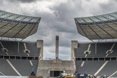 柏林体育场 免版税库存图片