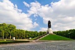 柏林公园treptower 库存图片