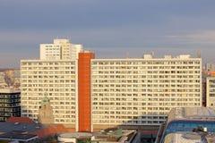 柏林公寓楼 免版税库存图片