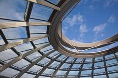 柏林圆顶reichstag 免版税库存照片