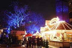 柏林圣诞节市场 免版税库存图片
