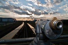 柏林地平线望远镜v1 图库摄影
