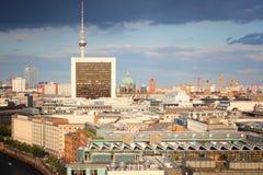 柏林地平线 免版税库存图片