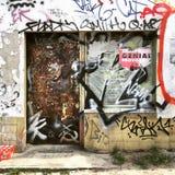 柏林城市衰退 库存照片