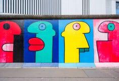 柏林墙艺术 免版税库存图片