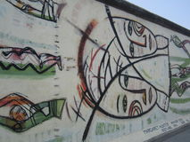 柏林墙 库存照片