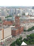 柏林大厅城镇 免版税库存图片