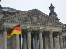 柏林大厦德国reichstag 免版税库存照片