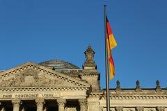 柏林大厦德国reichstag 免版税库存图片