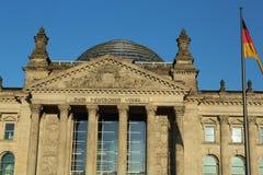 柏林大厦德国reichstag 库存照片