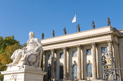 柏林大学 免版税库存图片