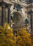 柏林大教堂德语 免版税库存图片