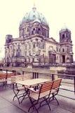 柏林大教堂教会 图库摄影