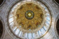 柏林大教堂教堂 图库摄影