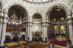 柏林大教堂柏林大教堂在柏林,德国 库存照片