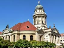 柏林大教堂法语 库存图片