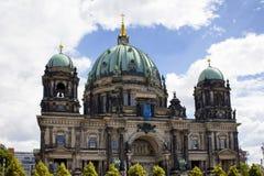 柏林大教堂看法  库存图片