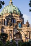 柏林大教堂门面  免版税库存照片
