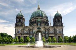 柏林大教堂-柏林大教堂在柏林 免版税库存照片