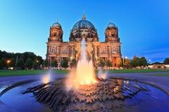 柏林大教堂 库存图片