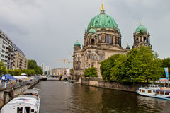 柏林大教堂 免版税库存照片