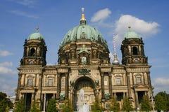 柏林大教堂 库存照片