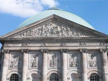 柏林大教堂hedwigs st 免版税库存照片
