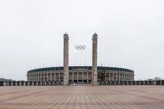 柏林奥林匹亚体育场 免版税图库摄影