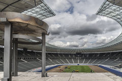 柏林奥林匹克体育场 库存图片