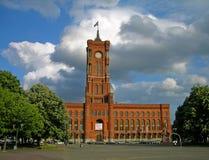 柏林市政厅 免版税库存照片