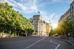 柏林市视图 库存照片