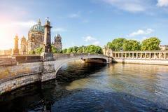 柏林市视图 免版税库存照片