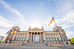 柏林市视图 免版税图库摄影