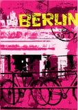 柏林市 向量例证