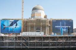 柏林市C的重建的建造场所 库存照片