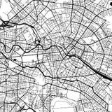 柏林德国传染媒介地图 皇族释放例证