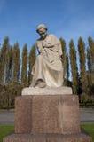 柏林德国祖国雕象 免版税库存照片
