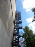 2014年柏林德国螺旋形楼梯 免版税图库摄影