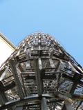 2014年柏林德国螺旋形楼梯 图库摄影