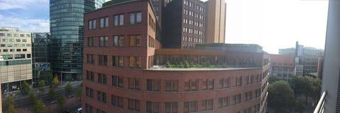柏林德国街大厦 免版税图库摄影