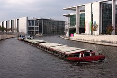 柏林政府区 库存图片