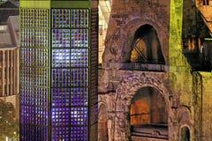 柏林教会历史德国 免版税库存图片