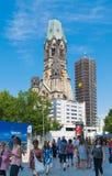 柏林教会 免版税图库摄影