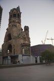 柏林教会kaiser纪念品wilhelm 免版税库存照片