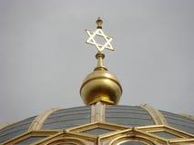 柏林新的犹太教堂 免版税库存图片