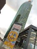 柏林方形的德国下午 免版税库存照片