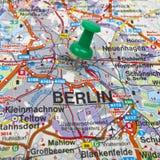 柏林映射 免版税图库摄影